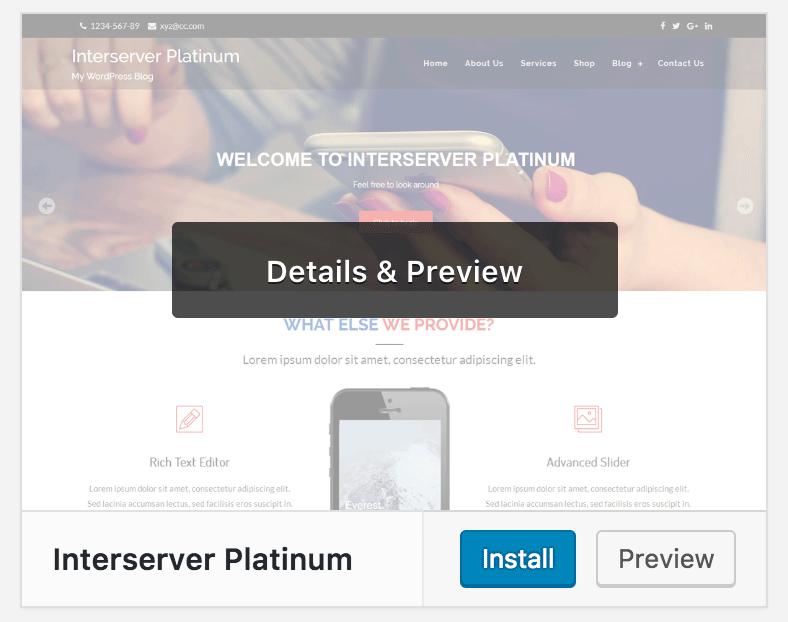 Setja upp WordPress þema