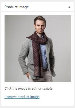 WooCommerce product image